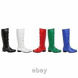 Ellie Shoes Men's 1 Heel Knee High Boots(Sizes) M WHT