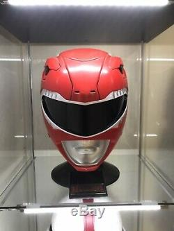 FULL SIZE Legacy Red Ranger Helmet Bandai COSPLAY