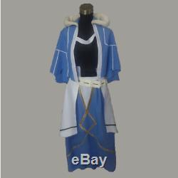 Fate Stay Night FGO Cu Chulainn Caster Custom Size Uniforms Cosplay Costume