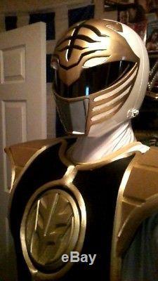Full Mighty Morphin Power Rangers White Ranger Suit / COSPLAY