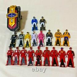 GOKAIGER POWER RANGERS Super Megaforce Mobirates ranger key Set USED Cosplay toy