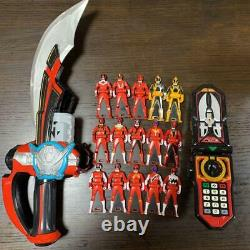 Gokaiger Mobile Rats Gokai Saber Set Cosplay Collection Toy Goods Power Ranger