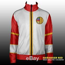 Gosei Sentai Dairanger Power Ranger Cosplay Jacket