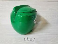 Green Power Ranger Helmet Mighty Morphin Cosplay Mask Costume (Aniki Cosplay)