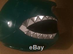 Green Power Rangers Helmet Cosplay
