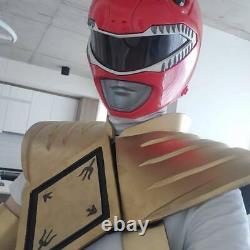 Green Ranger Dragon Armour Costume Mighty Rangers Zyuranger Burai Dragon Cosplay