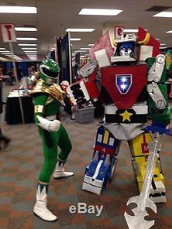 Green Ranger Dragon Shield Cosplay MMPR Power Rangers Homemade