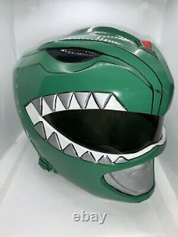 Green Ranger Helmet Cosplay tommy MMPR Jason David Frank
