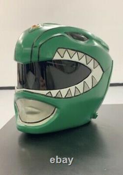 Green Ranger Helmet Mighty Morphin Power Rangers Cosplay Wearable Costume