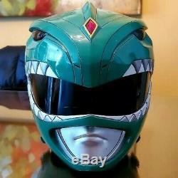 Green power ranger Helmet Aniki Cosplay mmpr (screen accurate) mask #2