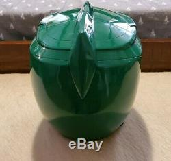 Green ranger Helmet Aniki power ranger Cosplay mmpr (screen accurate)
