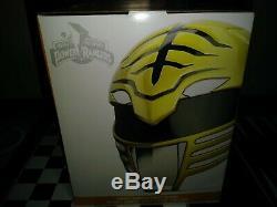 Hasbro Power Rangers Lightning Collection White Ranger Helmet 11 Scale Cosplay