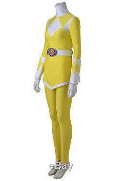 Japan Power Ranger Zyuranger Tiger Ranger Cosplay Costume Yellow Jumpsuit +Boots