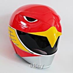Jetman Sentai red power ranger Helmet Halloween Costume Cosplay Movie Cosplay