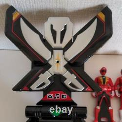 Kaizoku Sentai Gokaiger Transformation Mobile Mobiles Ranger Key Set Cosplay Toy