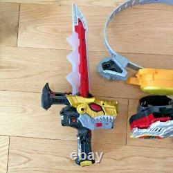 Kishi Ryu Sentai Ryusoulger set Buckle RYUSOUKEN DX Ryusou Changer Cosplay USED