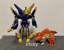 Kishiryu Sentai Ryusoulger Mosalex Dime Volcano Power Rangers Toys Cosplay Goods