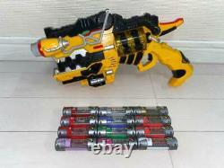 Kyoryuger henshin gun Gabribol River Beast battery set Power Rangers Cosplay