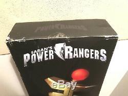 Legacy GOLDEN POWER STAFF Power Rangers Zeo Gold Ranger Die Cast Cosplay NEW