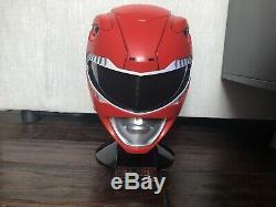 Legacy Red Ranger Helmet 11 Mighty Morphin Power Rangers MMPR Cosplay
