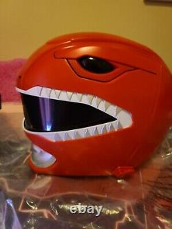 Legacy Red Ranger Helmet Complete