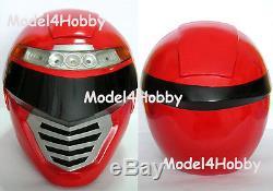 Light up Operation Overdrive Power Ranger Life Size Helmet TV Hero Cosplay Props