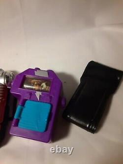 MMPR Communicator Morpher Vintage 1990'sToys Bandai 5 pc Cosplay CP