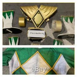 MMPR Power Rangers Green Ranger Costume Highest Quality Brand New Unworn Cosplay