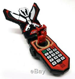 MMPR Power Rangers MEGA FORCE Handheld Morpher Device & Key, roleplay, cosplay