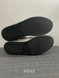 Mens/Air Jordan 1 Retro Mid Patent/Black Gold/Sz 10