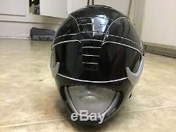Mighty Morphin Black Power Ranger cosplay helmet