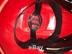 Mighty Morphin Power Ranger Legacy Red Ranger Cosplay Helmet 11 Scale Full Size