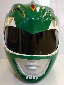 Mighty Morphin Power RangersGreen Ranger Helmet 11 Full Size Cosplay