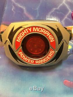 Mighty Morphin Power Rangers 1991 Bandi Morpher Play Set Coins Cosplay Vintage