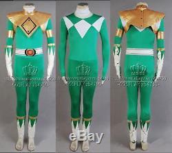 Mighty Morphin Power Rangers Burai Dragon Ranger Cosplay Costume Any Size