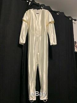 Mighty Morphin Power Rangers COSPLAY White Ranger Bodysuit made by Halu007
