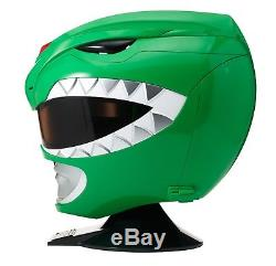 Mighty Morphin Power Rangers Cosplay Helmet Costume Party Full-Scale Green New