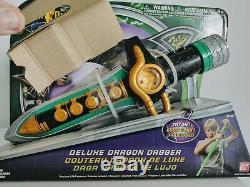 Mighty Morphin Power Rangers DELUXE DRAGON DAGGER Green Ranger MMPR Cosplay New