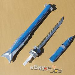 Mighty Morphin Power Rangers Gold Samurai Ranger's Weapon PVC Cosplay Prop