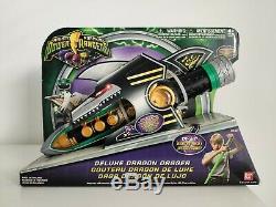 Mighty Morphin Power Rangers Green DELUXE DRAGON DAGGER 2010 Cosplay Halloween