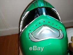 Mighty Morphin Power Rangers Green Ranger And White Ranger Cosplay Helmets