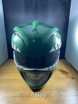 Mighty Morphin Power Rangers Green Ranger Cosplay Helmet