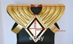 Mighty Morphin Power Rangers Green Ranger Shield Armor & Armband Costume Cosplay