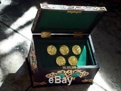 Mighty Morphin Power Rangers Green Ranger coin box prop replica cosplay morpher