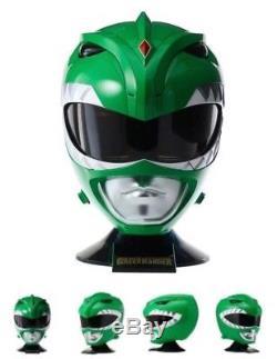 Mighty Morphin Power Rangers Legacy 1/1 Green Ranger Helmet Cosplay Replica Band