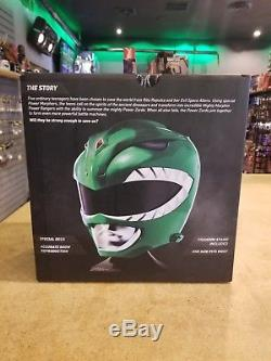 Mighty Morphin Power Rangers Legacy Green Ranger Helmet 11 Full Scale Cosplay