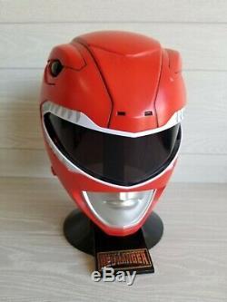Mighty Morphin Power Rangers Legacy Red Ranger Helmet 11 Bandai Used Cosplay