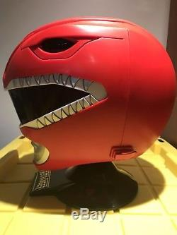 Mighty Morphin Power Rangers Legacy Red Ranger Helmet 11 Full Scale Cosplay
