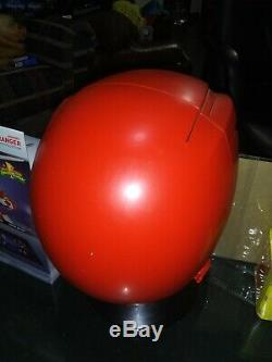 Mighty Morphin Power Rangers Legacy Red Ranger Helmet 11 Full Scale Cosplay Lot