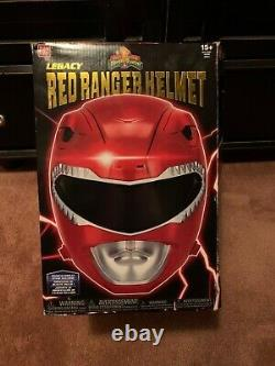 Mighty Morphin Power Rangers Legacy Red Ranger Helmet Full Size 11 cosplay